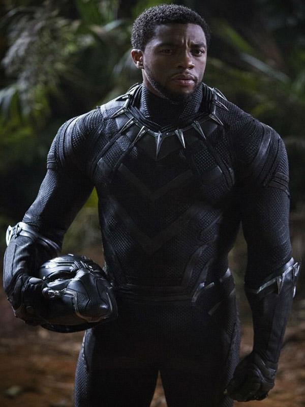 Chadwick Boseman Avengers: Infinity War Prince T'Challa Jacket