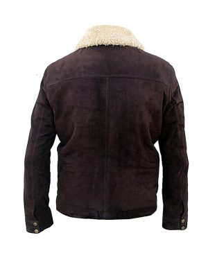 Andrew Lincoln Brown Suede Jacket