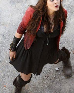 Wanda Maximoff The Avengers 2 Scarlet Witch Jacket