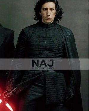 Kylo Ren Star Wars the Last Jedi 2017 Adam Driver Black Jacket
