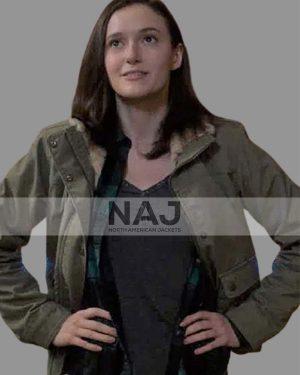 Chyler Leigh Supergirl Season 06 Alex Danvers Gray Cotton Jacket