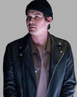 Tyler Blackburn Roswell, New Mexico Alex Manes Black Jacket