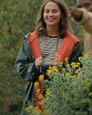 Alicia Vikander Beckett Hooded Jacket