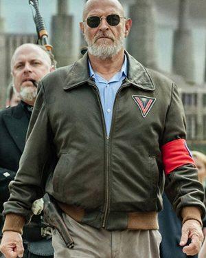 Corbin Bernsen American Gods Bomber Leather Jacket