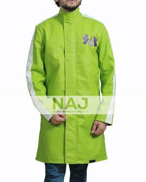 Vegeta Green Sab Leather Jacket