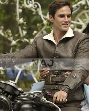 Andrew J. West Tv Series Once Upon A Time Leather Jacket