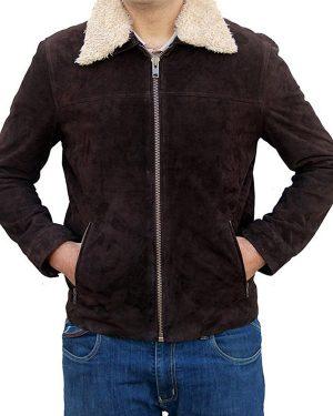 The Walking Dead Season 5 Rick Grimes Shearling Jacket