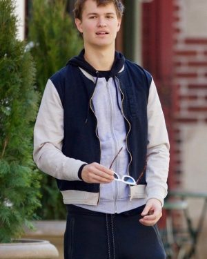 Ansel Elgort Baby Driver Cotton Jacket