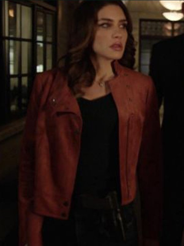 Arrow Season 6 Dinah Drake Brown Leather Jacket