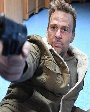 Sean Patrick Flanery Assault On VA-33 Brown Shearling Cotton