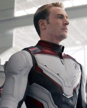 Chris Evans Quantum Realm Avengers Endgame Leather Jacket