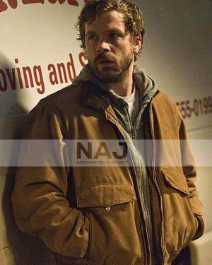 Brendan Sexton TV Series The Killing Belko Royce Brown Jacket