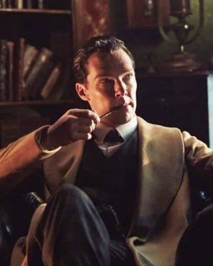 Tv Series Sherlock Holmes Benedict Cumberbatch Brown Wool Trench Coat