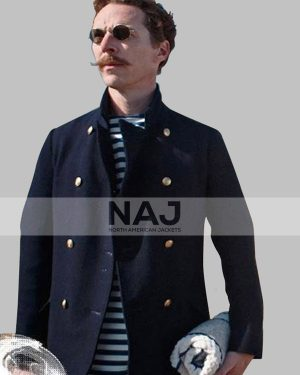 The Electrical Life of Louis Wain Benedict Cumberbatch Blue Wool Blazer