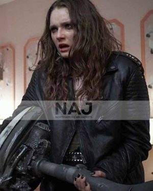 Amy Forsyth We Summon the Darkness Black Leather Jacket