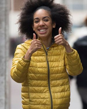 Pearl Mackie Doctor Who Puffer Jacket