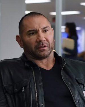 JJ My Spy Black Leather jacket