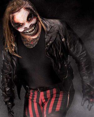 The Fiend Bray Wyatt Wrestler Black Leather Jacket