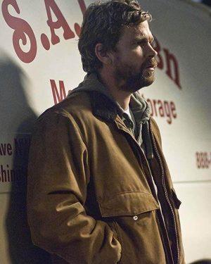 Belko Royce The Killing Brendan Sexton Brown Leather Jacket