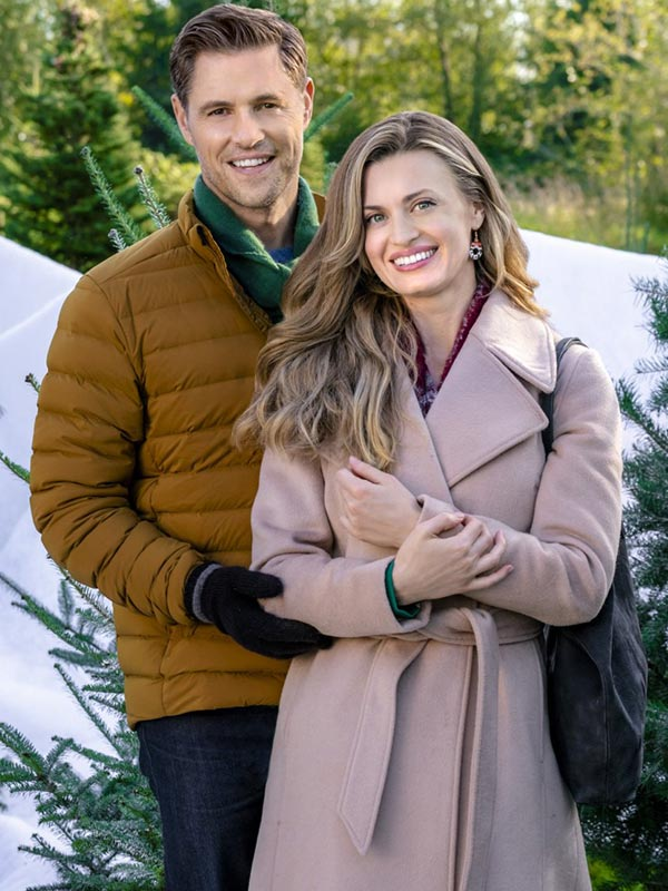 Brooke D'Orsay A Godwink Christmas Second Chance First Love Trench Coat