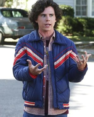 Axl Heck The Middle Charlie McDermott Blue Jacket