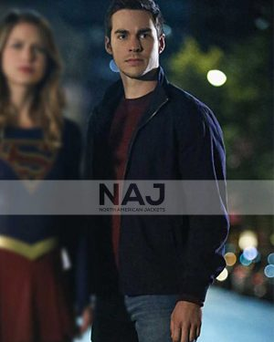 TV Series Supergirl Season 06 Chris Wood Cotton Bomber Jacket