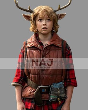 Gus Sweet Tooth Christian Convery Parachute Puffer Vest