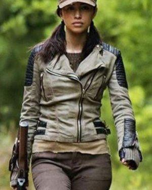 The Walking Dead Rosita Espinosa Leather Jacket