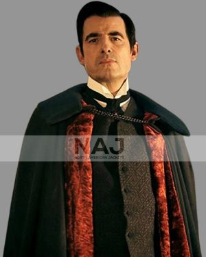 Claes Bang TV Series Dracula Black Cape Coat