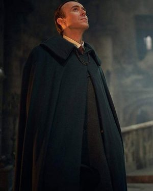 Claes Bang TV Series Dracula Count Dracula Black Cape Blend Coat