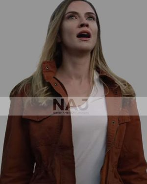 Sara Canning Superhost 2021 Claire Brown Cotton Jacket