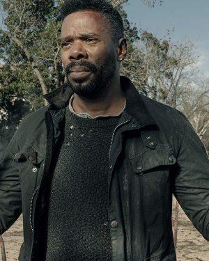 Victor Strand Fear The Walking Dead Colman Domingo Black Cotton Jacket