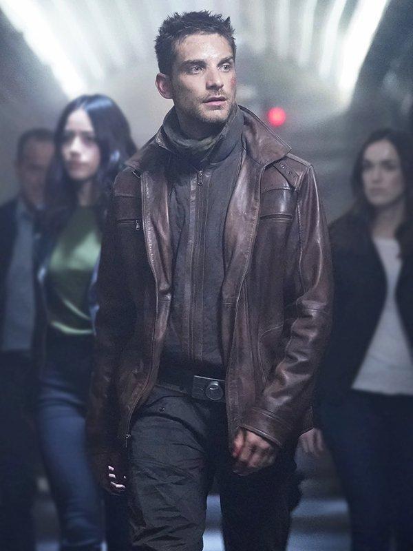 Jeff-Ward-Agents-of-Sheild-Deke-Shaw-Brown-Leather-Jacket
