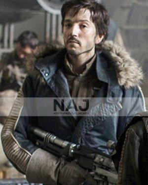 Captain Cassian Andor Rogue One A Star Wars Story Parka Jacket