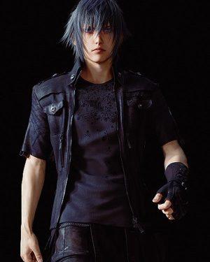 Noctis Lucis Caelum Dissidia Final Fantasy Leather Jacket