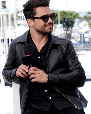 Jesse Custer TV Series Preacher Dominic Cooper Black Leather Jacket