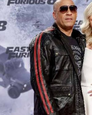 Fast and Furious 9 Premiere Vin Diesel Leather Jacket