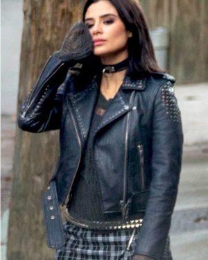 Crazy Jane Doom Patrol S01 Diane Guerrero Biker Black Leather Jacket