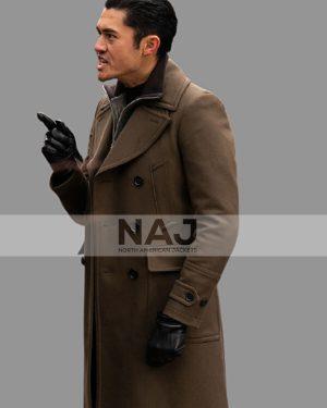 Henry Golding The Gentleman 2019 Dry Eye Brown Trench Coat