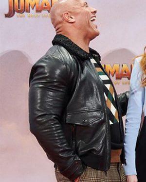 Eddie-Jumanji-The-Next-Level-Leather-Jacket