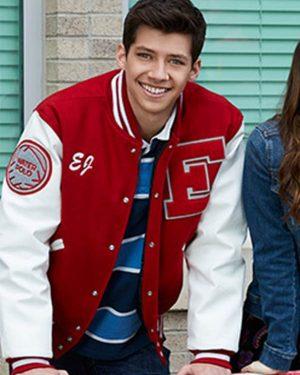 E.J. Caswell High School Musical Matt Cornett Bomber Jacket