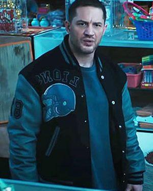Tom Hardy Venom 2 Detroit Lions Varsity Jacket