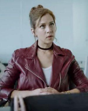 Who Killed Sara Carolina Miranda Olvera Biker Leather Jacket