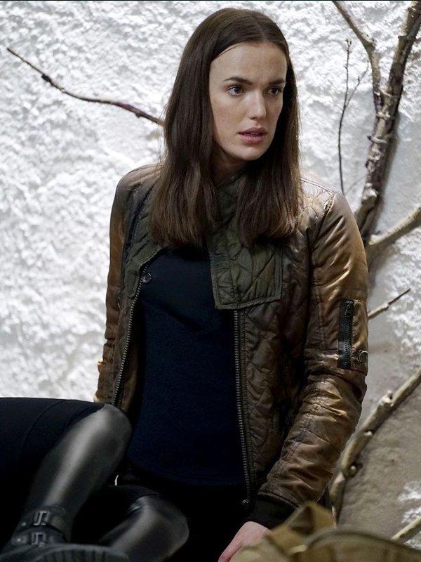 Agents of Shield Elizabeth Henstridge Bomber Jacket