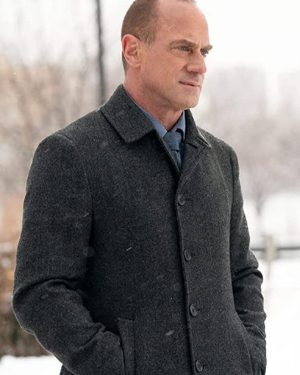 Law & Order Organized Crime Christopher Meloni Wool Coat