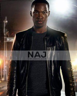 Eric Carter TV Series 24 Legacy Corey Hawkins Black Leather Jacket