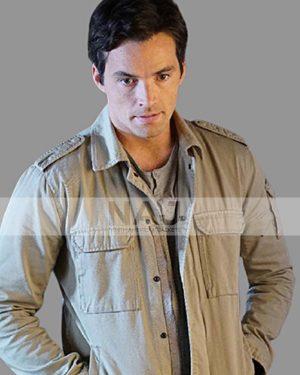 Ian Harding Pretty Little Liars Ezra Fitz Cotton Jacket