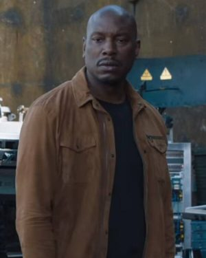 Roman Pearce Fast and Furious 9 Brown Jacket