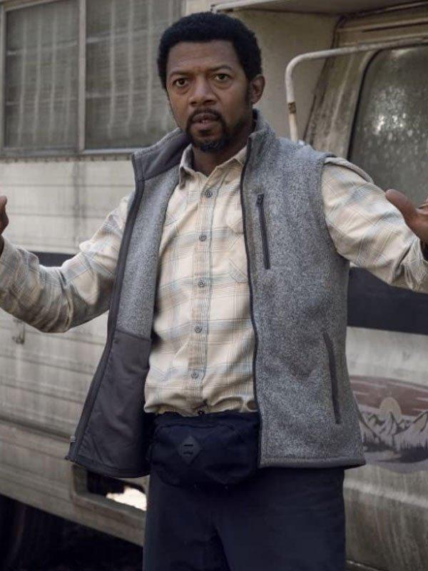 The Walking Dead S10 Franklin Grey Vest