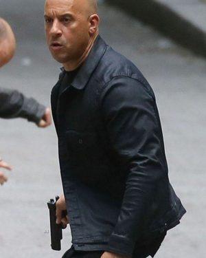 Vin Diesel Fast and Furious 8 Black Jacket